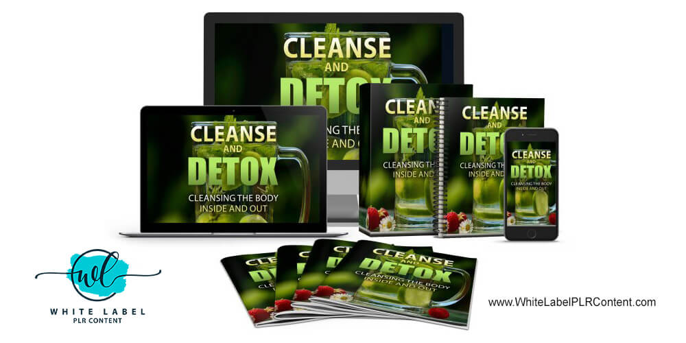 Cleanse and Detox PLR Package