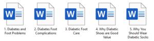 Diabetes Foot Care PLR Articles