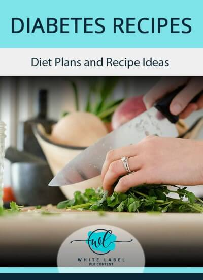 Diabetes Recipes PLR