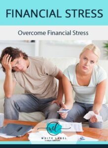 Financial Stress PLR Report and eCovers Pack