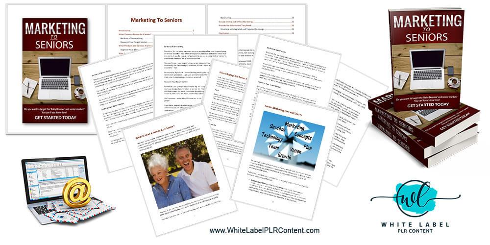 Marketing To Seniors PLR Package