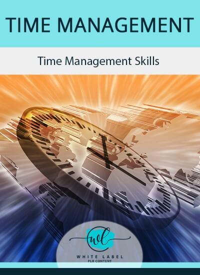 Time Management PLR Pack