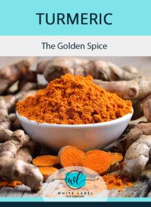 Turmeric PLR - The Golden Spice Image