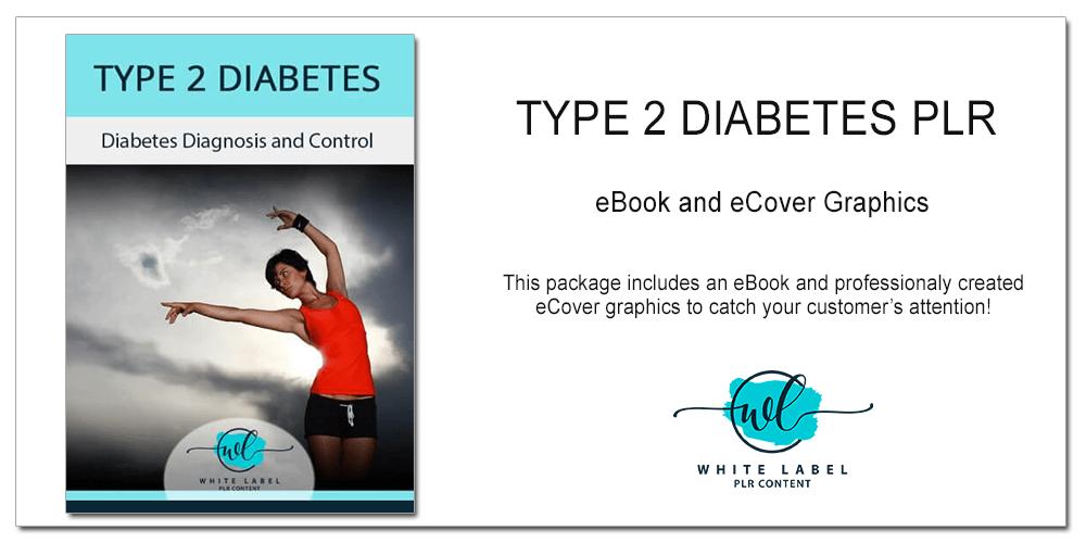Diabetes Diagnosis & Control PLR eBook Package
