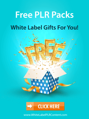 White Label PLR Content Free Gift Packs
